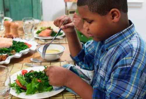 black-boy-eating-salad