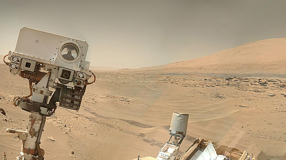 NASA releases selfies sent by Curiosity roverMars Curiosity Selfie
