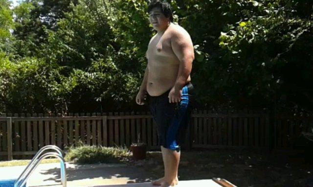 16-year-old Edgar Hernandez obesity