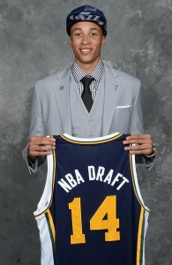 Australian defender Dante Exum selected in NBA draft by Utah Jazz