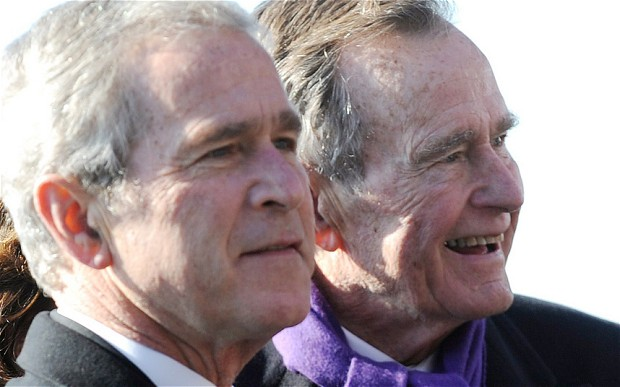 George W. Bush Has Written a Biography of his Father