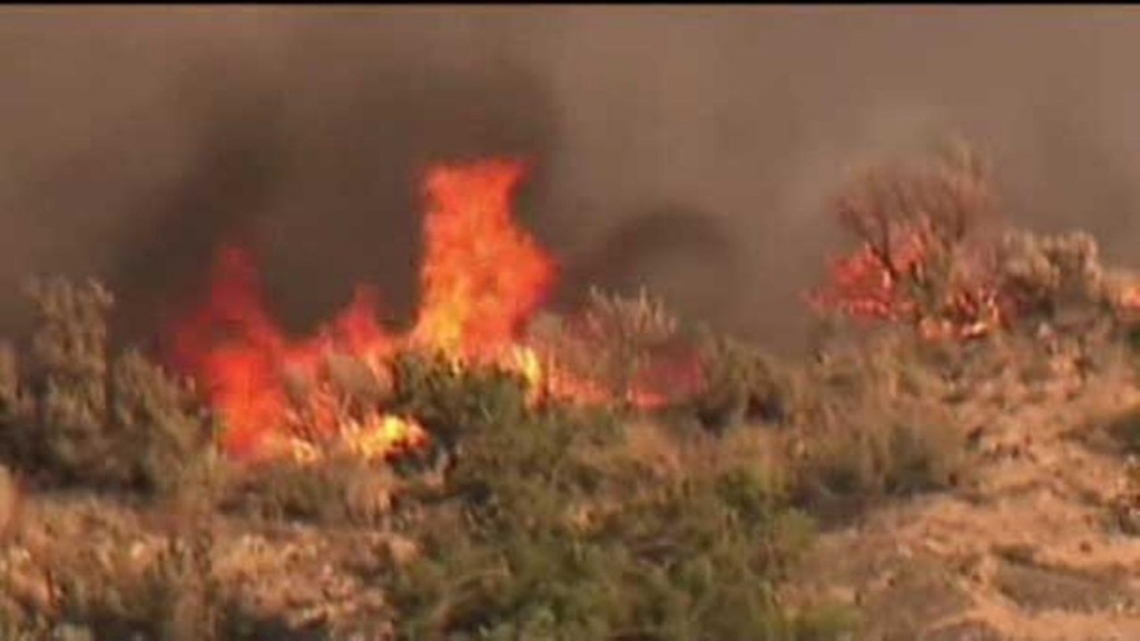 Hundreds of Wildfires Threaten National Safety
