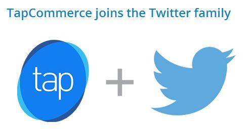 twitter tapcommerce purchase