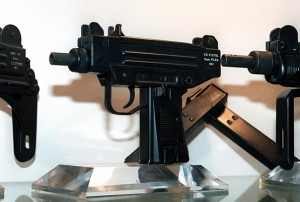9-Year-Old Girl with an Uzi