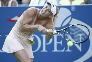Caroline Wozniacki's Bad Hair Day Eventually Brought her Good Luck