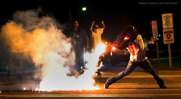 Fourth Night of Racial Demonstrations is Full of Violence