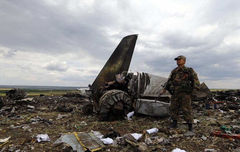 ukraine-military-plane-shot-down-luhansk