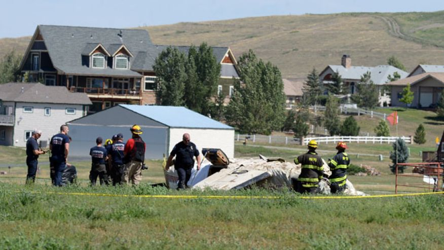 5 People and a Dog Killed in Plane Crash near Denver