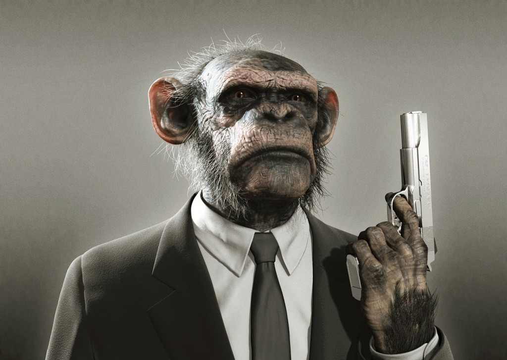 Chimps Are Inherently Violent