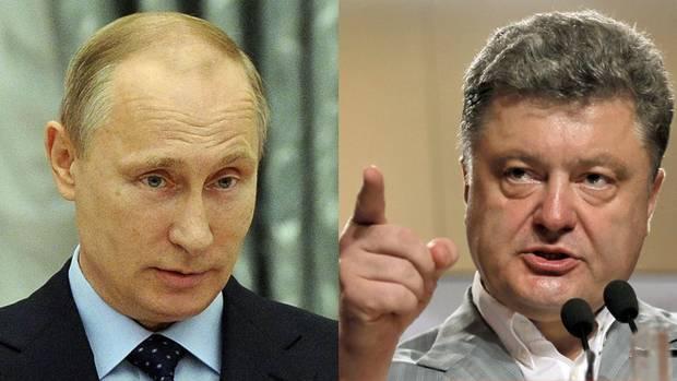 """Poroshenko Agreed on """"Permanent Ceasefire"""", Putin Seems to Disagree"""