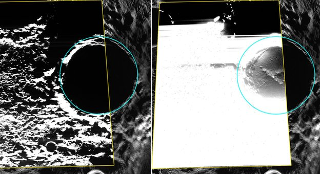 Mercury hosts water ice