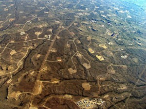Natural gas extraction through fracking