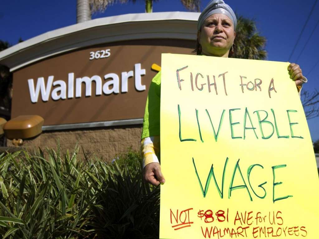 Black Friday Also Brings Protests at Walmart Doorsteps
