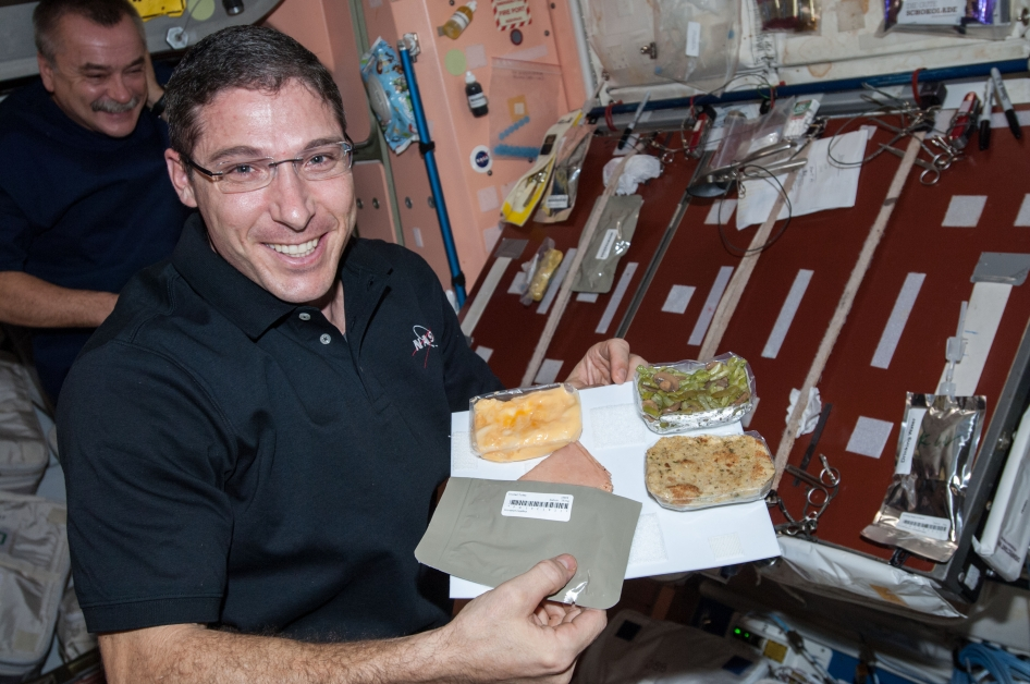 Thanksgiving Meal in Space