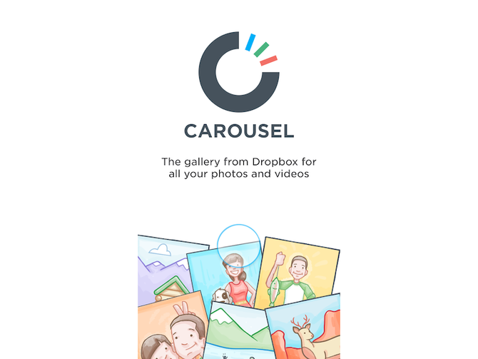 carousel by dropbox for ipad