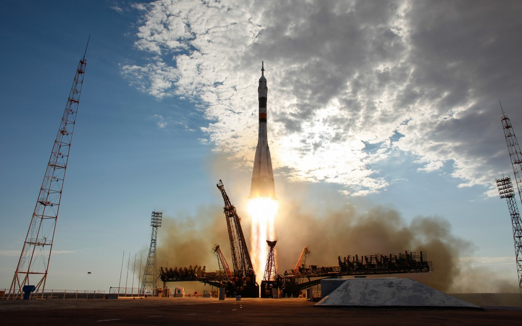 russian soyuz rocket launched on Sunday