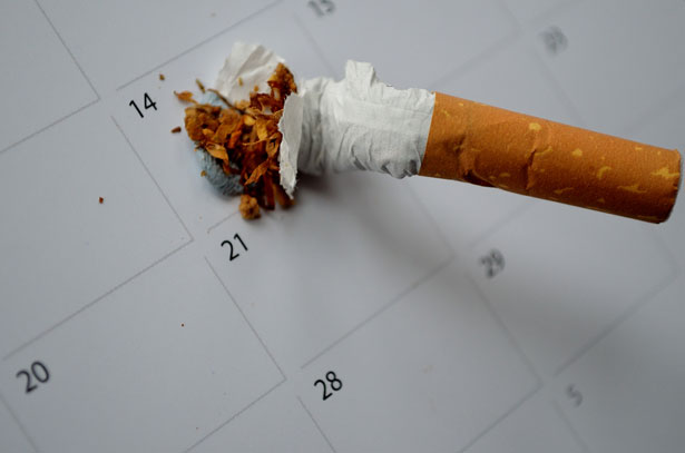 stop smoking for a day