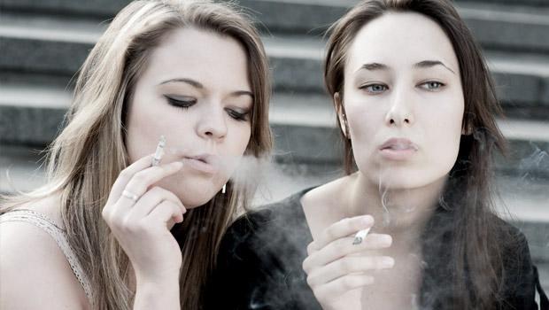 Cesser de fumer au cancer des poumons