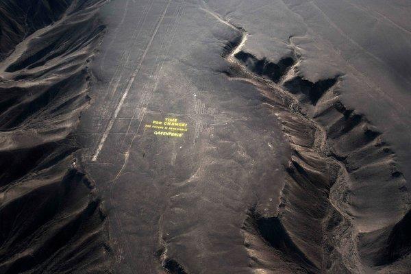 Peru is Outraged after Environmental Group Marked an Ancient Site