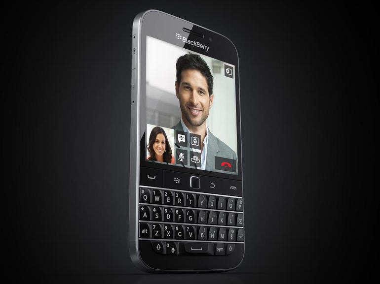 BlackBerry Classic Smartphone Released Which has a Physical Keyboard