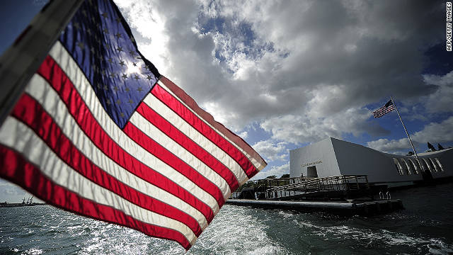 Flags Rise for Pearl Harbor Remembrance Day