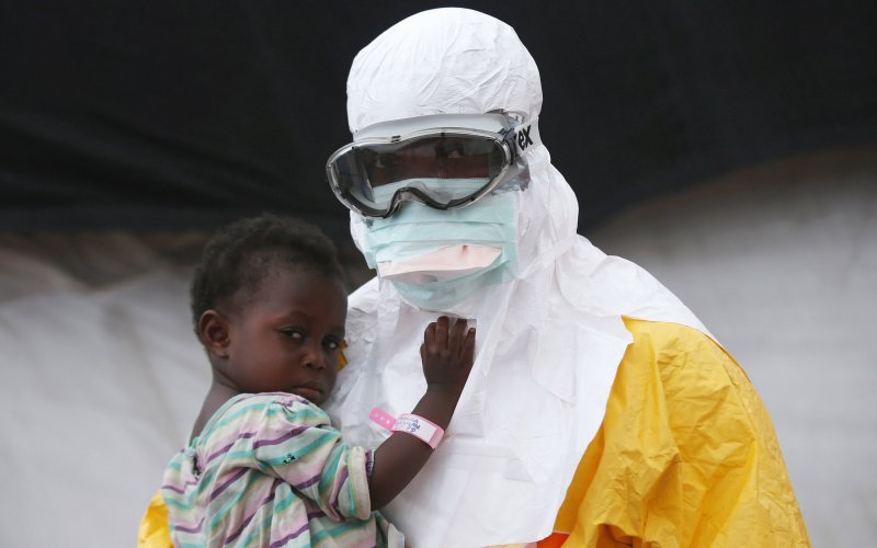 Four Year Old Ebola Orphan Watched Her Family Being Torn Apart by this Deadly Disease