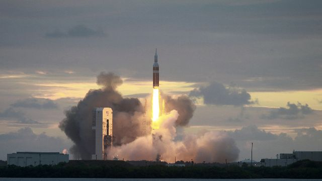 Orion spacecraft launch Friday