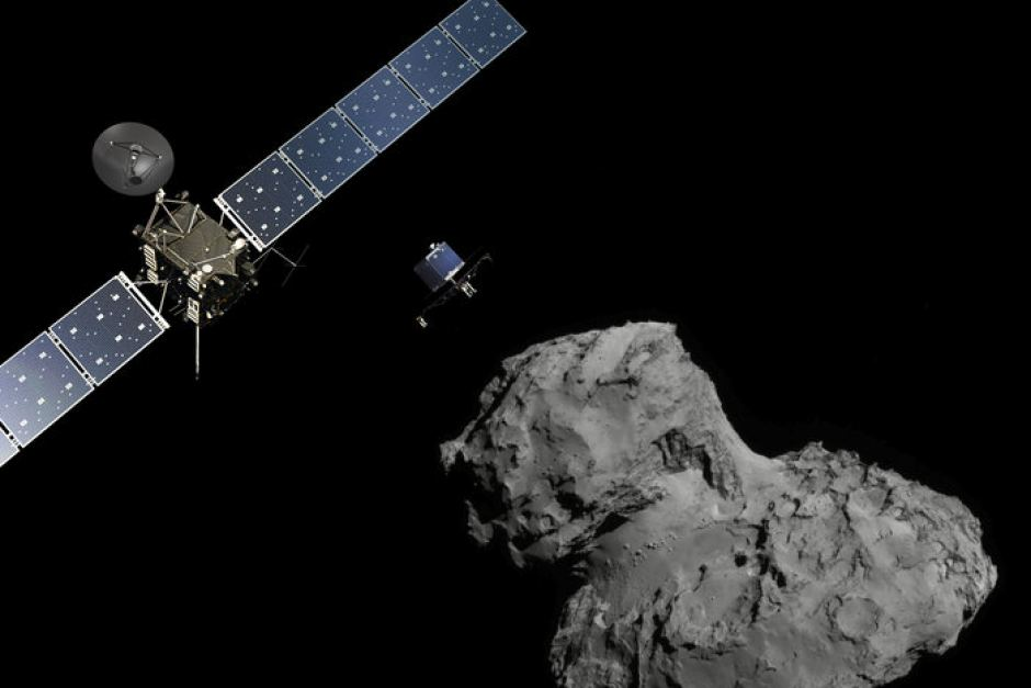 Rosetta Spacecraft Used to Determine if Comets are Involved in the Origin of Water on Earth