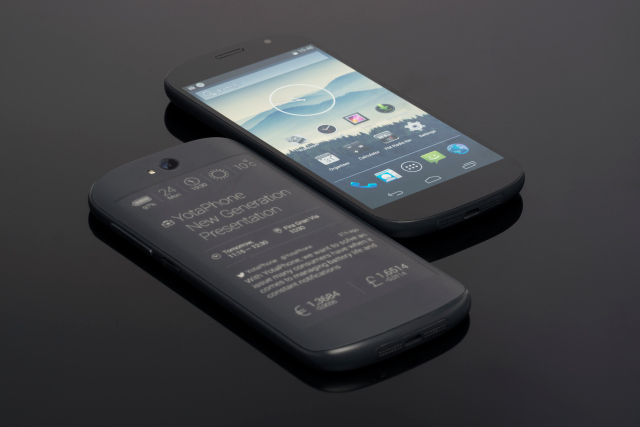 YotaPhone 2 is scheduled for shipping in 20 countries1