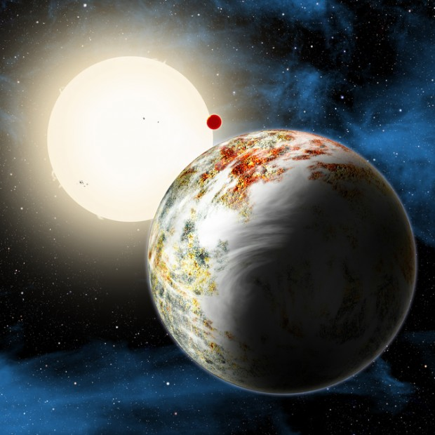 ground-based telescope detects a super-Earth