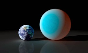 Astronomers Spot A Double-Sized Earth With A Ground Telescope