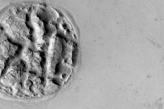 Strange Mars Formation