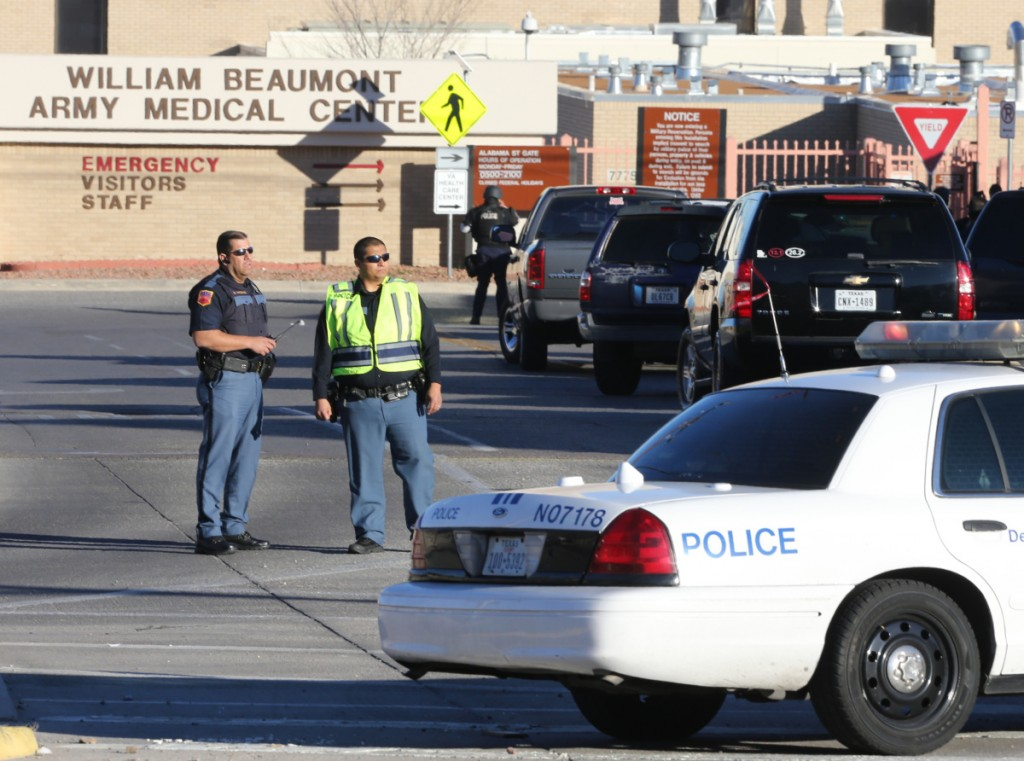 Army Hospital Shooter Reported