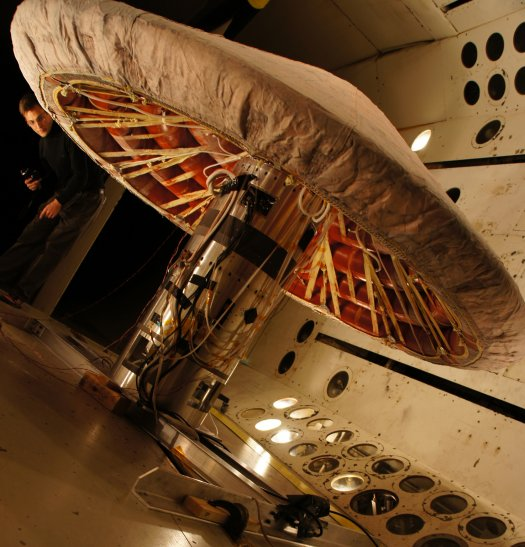 NASA is testing inflatable heat shield technology for future Mars missions