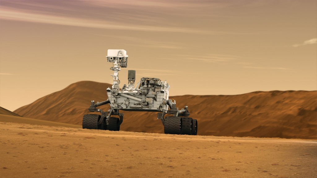 Potential Traces of Microbes Spotted on Mars