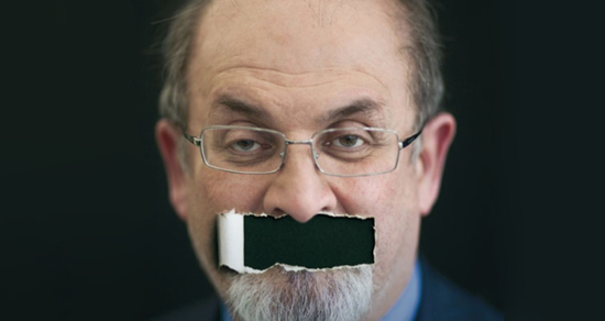 Salman Rushdie defends free speech