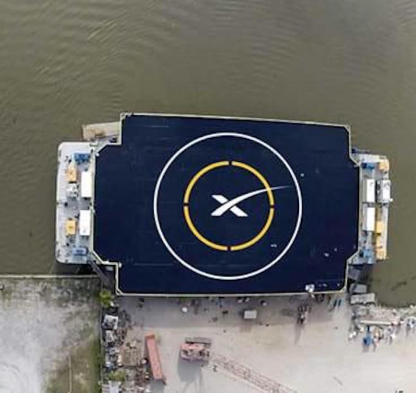SpaceX to Safely Land Falcon 9 Rocket on a Floating Platform