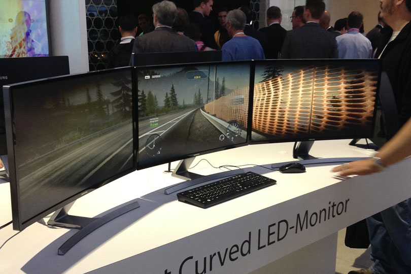 curved displays soon to me pc trend