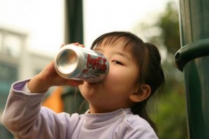 early puberty in girls may be prompted by consumption of soda