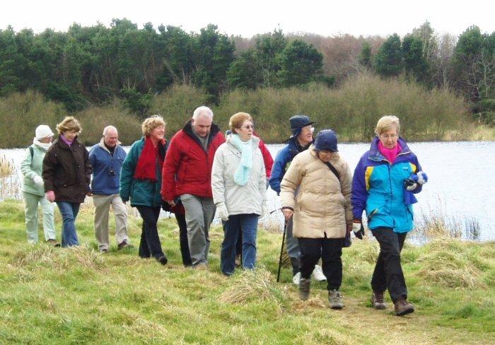 regular group walking
