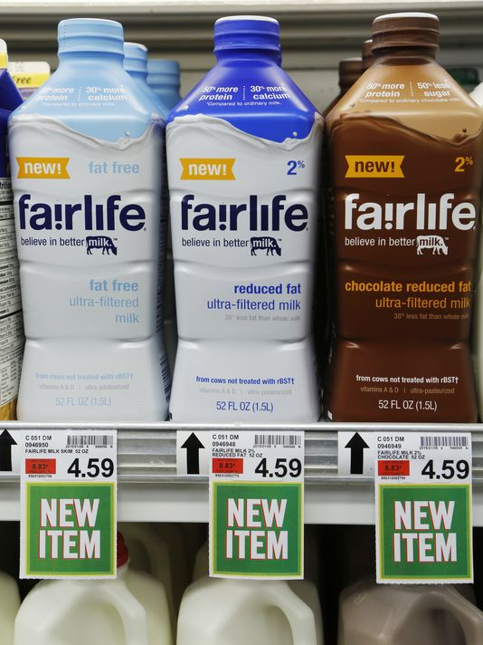 Coke Enters the Milk Business with High-End Product