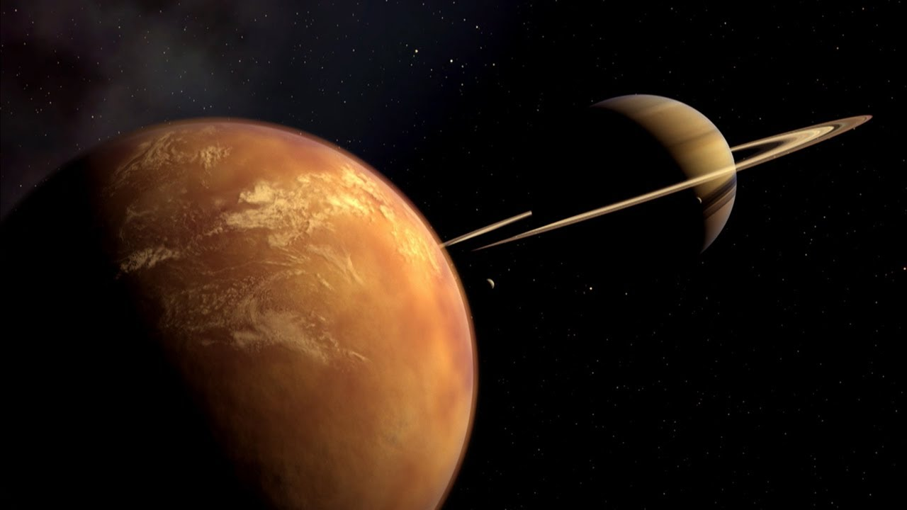 Methane Based Alien Life Forms May Dwell On Saturn S