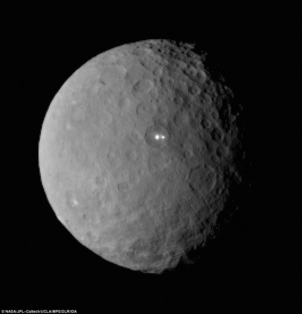 Scientists Totally Puzzled by Ceres' Mysterious White Lights