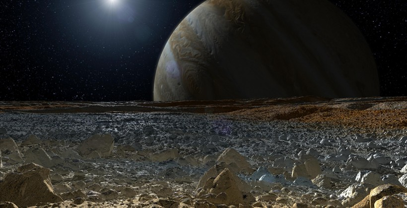 "alt=""computer-generated image showing the icy surface of jupiter's moon europa"""