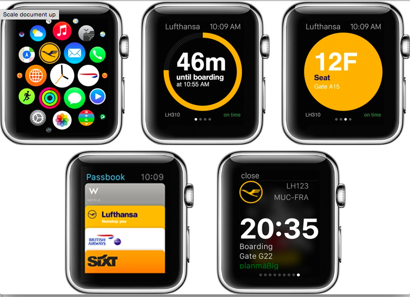 "alt=""new apple watch app from lufthansa"""
