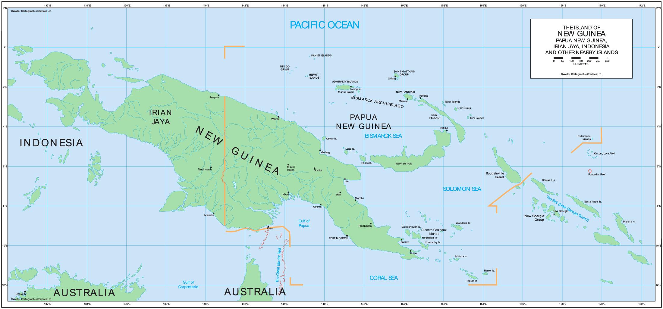 Papua_New_Guinea_political_map