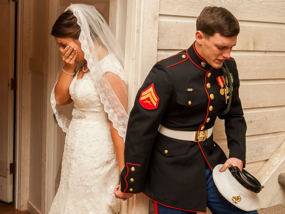 Young Marine and Bride-to-Be Prayer Moment Wins America's Hearts