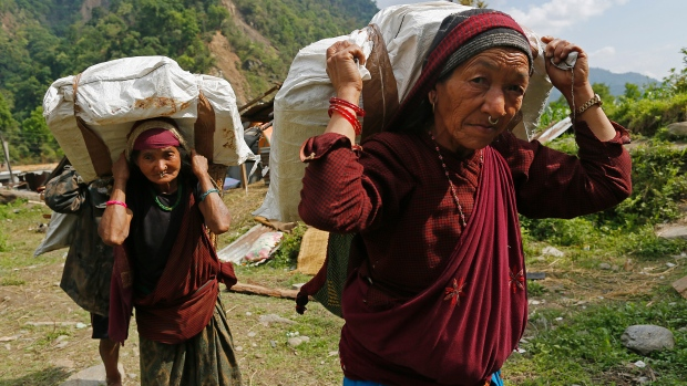 Relief efforts for Nepal