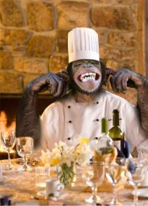 """alt=""""chimp cooking dinner"""""""