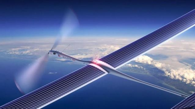 """""""How Facebook Will Use the Solar-Powered Drone Aquila for Internet Access"""""""